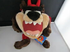 Looney Tunes Taz in Devil Costume Plush 1998 With Tags