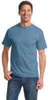 Port & Company Big & Tall Men's 6.1oz 100% Cotton T-Shirt LT-4XLT. PC61T