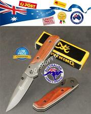 Browning Folding Pocket knife Tactical Rescue Hiking Camping