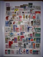 Germany West, Stamp Collection, full page all different. Used. Free UK P&P.