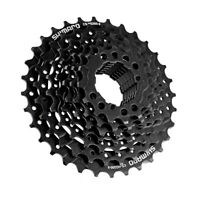 SHIMANO CS-HG200-9 MTB Mountain Bike Bicycle 9 Speed Cassette Freewheel Black