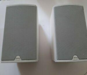 Boston Acoustics CR6 Bookshelf 100W Speakers - White