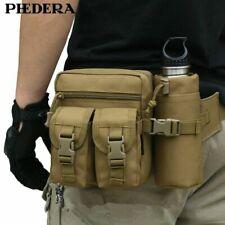 Waist Bag Packs Camouflage Military Bottle Holder Travel Nylon Detachable Bags