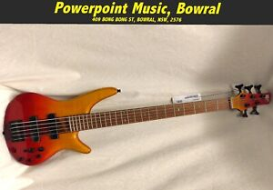 Ibanez SR875 5-String Electric Bass - Autumn Leaf Graduation RRP $1899