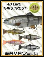 Savage Gear 4D Line Thru Trout ready to fish lures 15-20-25-30-40cm  crazy price