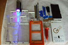 Kit Professionale di Riparazione Vetro Schermo Frontale per iPhone 7 Bianco