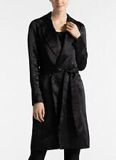 ST. JOHN Silk Organza Belted Sequin Jacket - 100% Silk NWT K62VW01 Retail $1,695