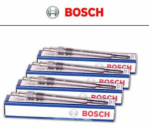 0250403002 BOSCH Kit 4 Candelette AUDI A3 (8P1) 2.0 TDI 16V 140 hp 103 kW 1968 c