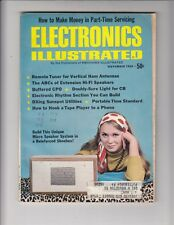 Electronics Illustrated Magazine November 1968 , Remote Tuner for Ham Antenna