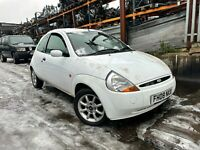 2008 FORD KA ZETEC CLIMATE 1.3 PETROL MANUAL WHITE MOT TILL JUNE
