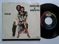 "Ashford & Simpson / Solid 7"" Vinyl Single 1984 mit Schutzhülle"