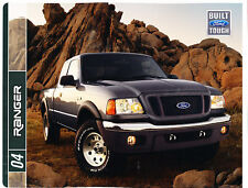 2004 Ford Ranger Truck 24-page Original Sales Brochure - Tremor FX4 Edge