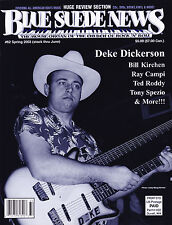 Blue Suede News 62 Deke Dickerson Ted Roddy Ray Campi