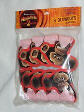 NEW~MADAGASCAR-ESCAPE 2 AFRICA  ~8- BLOWOUTS PARTY SUPPLIES