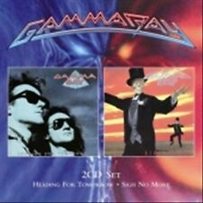 GAMMA RAY - HEADING FOR TOMORROW/SIGH NO MORE USED - VERY GOOD CD