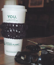Crochet Pattern ~ BOBBLE COFFEE CUP COZY ~ Instructions