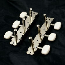 (D16) Vintage Classic Acoustic Guitar Tuners Set for Your Project Repair