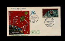 French Somalia February 9 1963 1st Television Satellite Andover to America