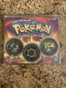 Vintage 1999 Hasbro Pokemon Battling Coin Game Coins