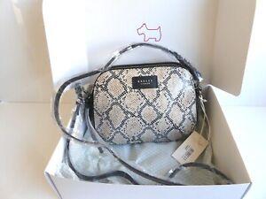Radley Gift Boxed Dukes Place Leather Crossbody Bag BNWT RRP £149 & Dust Bag