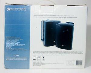 Element Electronics EOD4 3 Way Dynamic Indoor/Outdoor Loud Speakers