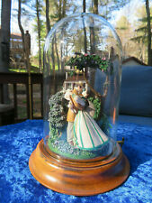 Gone With The Wind 'Romance Of Tara' Musical Sculpture With Glass Dome
