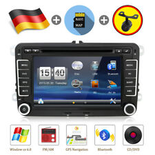 AUTORADIO GPS NAVI DVD BLUETOOTH Für VW GOLF 5 PASSAT TOURAN TIGUAN SKODA POLO