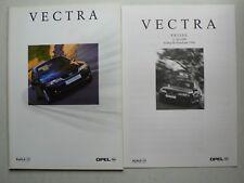 Prospekt Opel Vectra B Facelift, 1.1999, 64 Seiten + Preisliste 7.1999