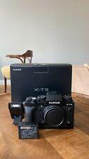 Fujifilm X-T3 Spiegellose Systemkamera - Schwarz (Nur Gehäuse) (Body only) OVP