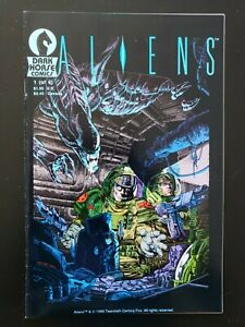 ALIENS #1 OF 6 1ST PRINT VF- 1988 1ST APP OF ALIENS IN COMICS DARK HORSE COMICS