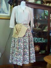 American Civil War 2pc costume fancy dress black drill Dickensian Victorian