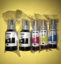 Epson 502(T502) EcoTank Bundle Auto-Stop Ink Bottles ET-2700, ET-2750, ET-3750