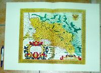 Schlesien Silesiae alte Landkarte Reproduktion 60 x 43 cm Ortelius 1595 Ansicht