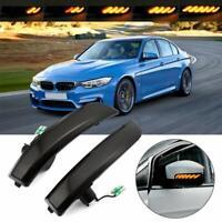 2x Dynamische LED Spiegel Lauflicht Seitenblinker Für Ford Kuga EcoSport 2013-18