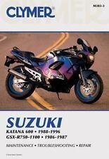 1988-1996 Suzuki GSX600F, 86-87 GSX-R750 GSX-R1100 Clymer Repair Manual M3833