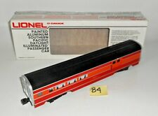 VINTAGE LIONEL O SCALE SOUTHERN PACIFIC PAINTED ALUMINUM DAYLIGHT COMBO CAR 84