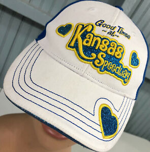 Good Times At Kansas Speedway NASCAR YOUTH Adjustable Baseball Cap Hat