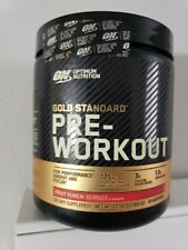 OPTIMUM NUTRITION GOLD STANDARD PRE-WORKOUT VITAMIN D, KETO FREE, WITH CREATINE