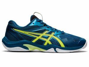 Men's Asics GEL-BLADE 8 Squash Badminton Shoes Training Indoor Shoes 1071A066