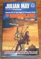 JULIAN MAY The Nonborn King:Saga Of/Pliocene Exile III PB Michael Herring art 3