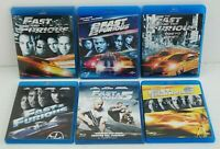 FAST AND FURIOUS Film 1 - 6 BLU RAY DISCH con Vin Diesel, Paul Walker