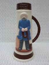 Nautical Beer Stein Collectable Large Mug Fisherman Sailor Rare Rope 13 Inch