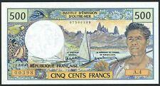 Tahiti French Oceania: 500 Francs 1985 o.A. (P-25 / B404e)