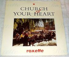 """ROXETTE CHURCH OF YOUR HEART / I CALL YOUR NAME SWEDEN PS 7"""" 1992"""