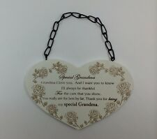 Special Grandma Poem Plaque Christmas Gift Ideas for Grandparents & Her F1214F