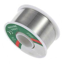 63/37 Tin/Lead 0.8mm Rosin Roll Tin Rosin Core Flux Solder Wire Reel Silver