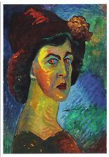 Cartolina D'ARTE-Marianne V. Werefkin: anche effigie