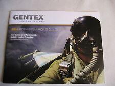 Gentex Ground Systems Booklet Catalog / Helmets / 2014 / New