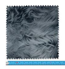 Realistic Silver Fox Fur Fabric 21 Variations Price Per Metre LSFABRIC290