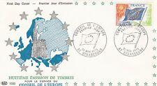 France 1975 S 46 FDC Conseil de l'Europe Drapeau